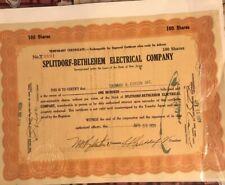1929 Thomas A.edison Autograph