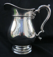 Vtg Large International Sterling 925 Prelude Patten Pitcher 4 1/4 Pts Ex 721 Gr
