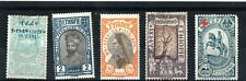 Ethiopia ( Abyssinia) small lot of mounted mint stamps