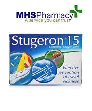 Stugeron Tablets Travel Sickness - 15 Tablets