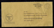 1941 Germany Auschwitz Concentration Camp Admin Office SS Official Cover KZ