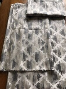 3 Good Remnants Ashley Wilde Ettrick Furnishing Curtain Fabric in Slate