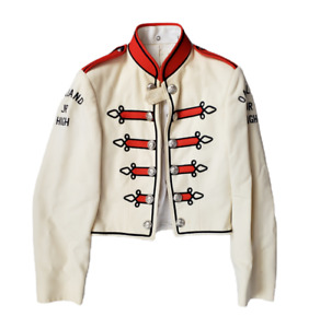 Rare Vintage 1950's Marching Band Uniform Oakland Stitched Jacket Youth Wool