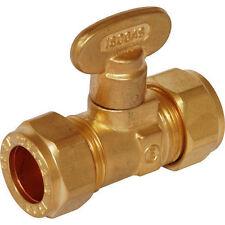 COMPRESSIONE del gas Approvato 15mm Ventilatore rigido Manopola Valvola di intercettazione ** bolofix **