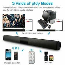 4 Speaker SoundBar Wireless Bluetooth 20W Column Computer subwoofer USB AUX Y1H1