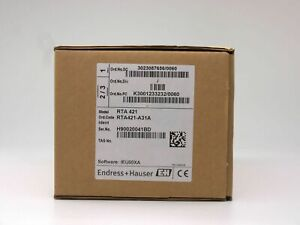 ENDRESS+HAUSER RTA421 RTA421-A31A GRENZWERTSCHALTER LIMIT SWITCH