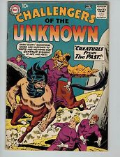 Challengers of the Unknown #13 (Apr-May 1960, Dc)! Fn5.5-! Silver age Dc beauty!