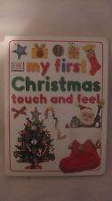 My First Natale Touch & Effetto Design Nicola Harrison Da Dk 2002 Nuovo bk15