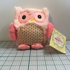 INTELEX Fully Heatable HOOTY Plush Warm Therapy (PINK) - NWT - Microwavable