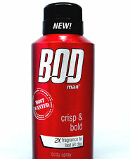Bod Man Most Wanted by Parfums De Coeur Deodorant Body Spray 4.0 oz