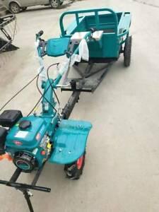 Einachsschlepper schlepper grubber traktor 12kW 16PS + Mäher + Anhänger NEU