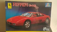 Ferrari 348 TB - Plastic Model Kit 1/24 - N°668 - Italeri