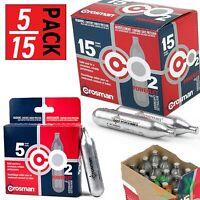 CO2 Cartridge Gun Gas Pellet Airsoft BB Pellet 12 Gram Crosman CO2 Cartridges