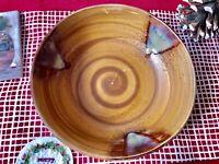 """Sango Splash 4951 7.75"""" Coupe Soup Bowl Splash Brown"""