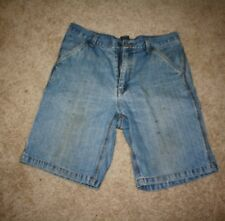 Men's Faded Glory Utility Jean Shorts Size 34