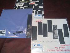 HORACE PARLAN AUDIOPHILE 45 SPEED SET 3 TITLES GROOVIN - SPEAKIN  US THREE 6 LPS