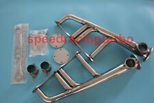 SBC 265-400 V-8 CHEVYHOT ROD STREET RAT EXHAUST STAINLESS LAKE STYLE HEADERS