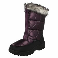 Ladies Reflex Fur Topped Snow Boots