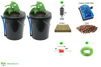XerXes Hydroponics Deep Water Culture DWC Hydroponic System, 5 Gallon [Set of 2]