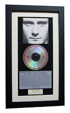 PHIL COLLINS Face Value CLASSIC CD Album GALLERY QUALITY FRAMED+FAST GLOBAL SHIP