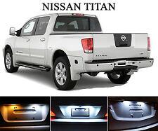 Xenon White License Plate / Tag 168 194 LED light bulbs for Nissan Titan 2Pcs
