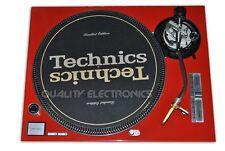 Technics Face Plate For Technics SL-1200 / SL-1210 MK5/ M3D Turntable (Red)
