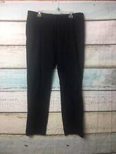 Men's Banana Republic Aiden Fit Slim Fit Dress Pants SZ 36x32 Black