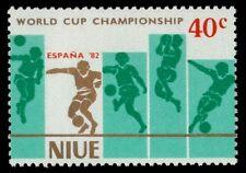 NIUE 345b (SG441) - Espana '82 World Cup Football Championships (pa31885)