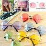 Unisex Harajuku Retro Rund Brille Bunte Linsen Sonnenbrillen Eyewear Hot2015