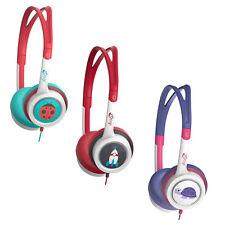 Genuine ZAGG iFrogz Little Rockerz Fancy Volume Control Kids Children Headphones