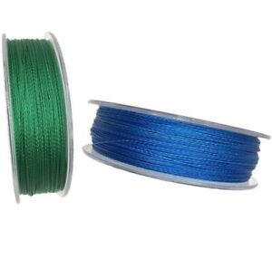 Braided Fishing Line PE Strong Lines Green or Blue Color