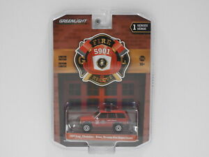 """1:64 1990 Jeep Cherokee - Reno, Nevada Fire Department """"Fire & Rescue"""" Greenligh"""