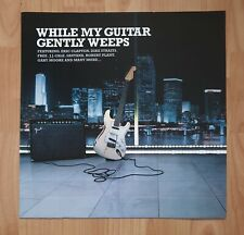 While My Guitar Gently Weeps Promo Poster Ultra Rare