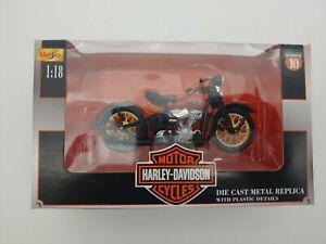 Maisto 1936 EL Knucklehead - Harley-Davidson Series 10 NIB