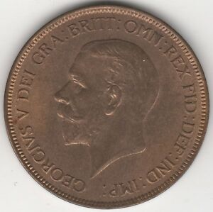 1929 George V One Penny | Pennies2Pounds