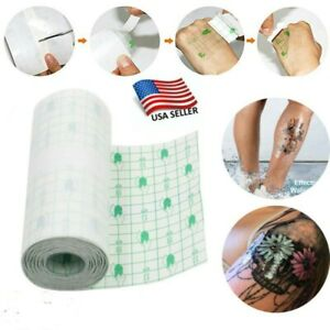 Tattoo Bandage Roll 10cm 1m Protective Waterproof Tattoo Aftercare Film Pad