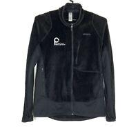 Patagonia Mens R2 Regulator Full Zip Fleece Jacket Lg Black Extra Soft Polartec