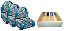 YUGIOH Cybernetic Horizon 3 display (72 BOOSTER) 1. edizione + BOX PER 4000 carte