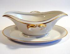 Krautheim & Adelberg Selb Sauciere Mod. 7800 Goldrand Art Deco um 1930