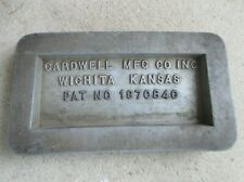 Vintage Cardwell Manufacturing Company Wichita Kansas Oil Drilling equipment