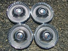 1967 CHRYSLER 300 4 - HUBCAPS WHEELCOVERS 68 NICE, OEM 14""