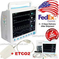 Fda Capnograph Patient Monitor Icu Vital Signs Multi Parameter Sidestream Etco2