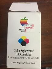 Apple Color StyleWriter Black, Tri-Color Ink Cartridge M3328G/A For 2400/2500