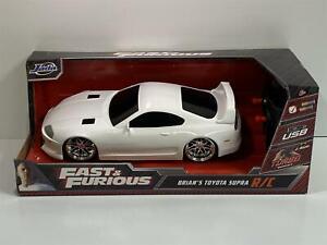 Fast and Furious Brians Toyota Supra R/C Remote Controlled 1:16 Jada 31407