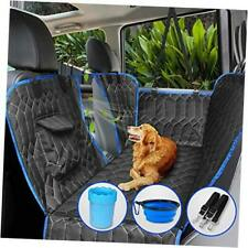 [UpgradedVersion] Dog Car Seat Cover for Back Seat, 100% Waterproof Back Seat