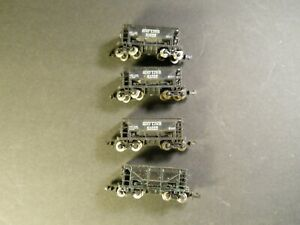 N Scale Atlas Ore Car Set Of 4 SOO LINE