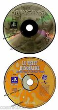 PlayStation 1 lot 2 jeux Le PETIT DINOSAURE retour vers la vallée psx ps1 ps2 ps