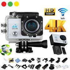 4K FULL HD 1080P WIFI SPORT ACTION CAMERA DV 16MP VIDEOCAMERA SUBACQUEA  SCHERMO
