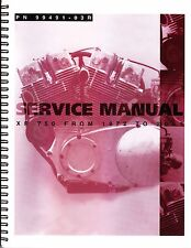 1972-2003 Harley XR750 XRTT750 Service Repair Workshop Shop Manual 99491-03R