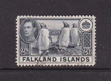 FALKLAND ISLANDS 1938 KGVI 2/6d FINE USED